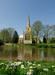 St Mary's Parish Church, Stratford-Upon-Avon (burial place of William Shakespeare)